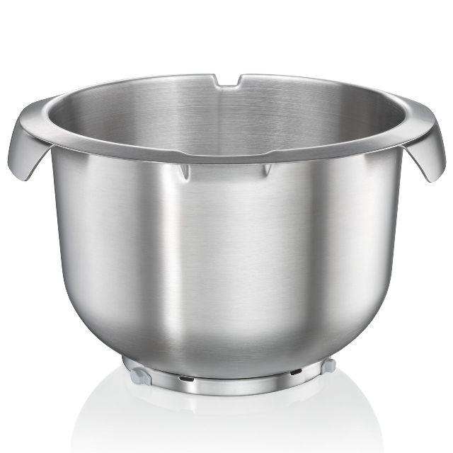 BS 576594 - Чаша для взбивания, нерж.сталь MUZ8ER3 к кухонным комбайнам Bosch, Siemens, Neff, Gaggenau (Бош, Сименс, Гагенау, Нефф)