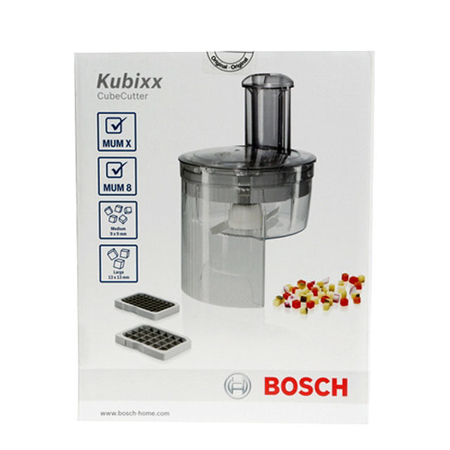 BS 577339 - Насадка-кубикорезка для кухонного комбайна, для MUM8.., MUMXL.. к кухонным комбайнам Bosch, Siemens, Neff, Gaggenau (Бош, Сименс, Гагенау, Нефф)