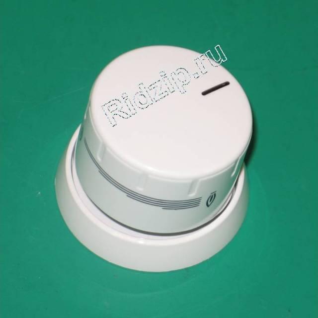 BS 602443 - BS 602443 Ручка конфорки белая с кольцом к плитам Bosch, Siemens, Neff, Gaggenau (Бош, Сименс, Гагенау, Нефф)