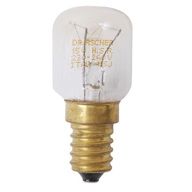 BS 602674 - Лампа Е-14 15W 220V ( замена для 040273 060043 039338 186240 ) к холодильникам Bosch, Siemens, Neff, Gaggenau (Бош, Сименс, Гагенау, Нефф)