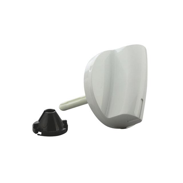 BS 609263 - Ручка выбора программ белая к стиральным машинам Bosch, Siemens, Neff, Gaggenau (Бош, Сименс, Гагенау, Нефф)