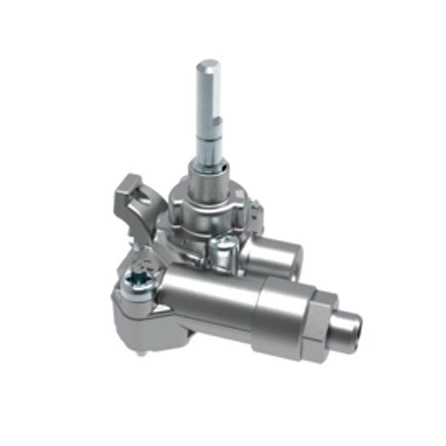 BS 612254 - Газовый кран  3/3,2KW 7/5 G20/G25 к плитам, варочным поверхностям, духовым шкафам Bosch, Siemens, Neff, Gaggenau (Бош, Сименс, Гагенау, Нефф)