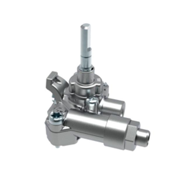 BS 612255 - Газовый кран  1KW 7/5 G20/G25 к плитам, варочным поверхностям, духовым шкафам Bosch, Siemens, Neff, Gaggenau (Бош, Сименс, Гагенау, Нефф)