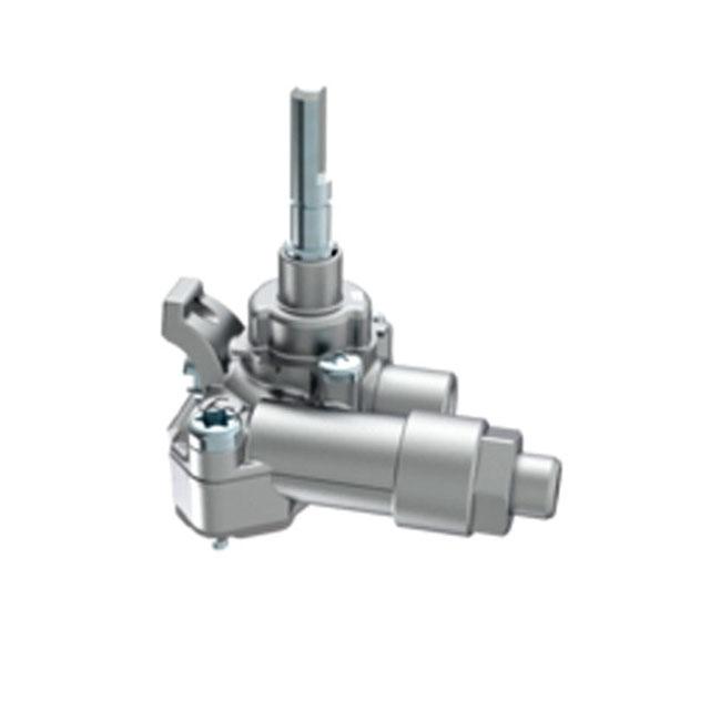 BS 613680 - Газовый кран 2,8KW 7/5 G-20/25 C/S.C60/70F.C/JU к плитам, варочным поверхностям, духовым шкафам Bosch, Siemens, Neff, Gaggenau (Бош, Сименс, Гагенау, Нефф)