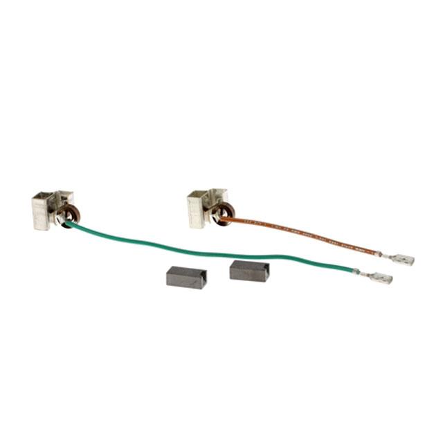 BS 622438 - Угольные щетки, в комплекте: 2 щетки, 2 держателя, 2 пружины к кухонным комбайнам Bosch, Siemens, Neff, Gaggenau (Бош, Сименс, Гагенау, Нефф)