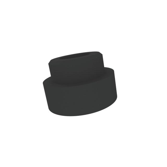 BS 626836 - Уплотнитель для крепления дверной ручки, для встраиваемых духовых, шкафов, черный к плитам, варочным поверхностям, духовым шкафам Bosch, Siemens, Neff, Gaggenau (Бош, Сименс, Гагенау, Нефф)