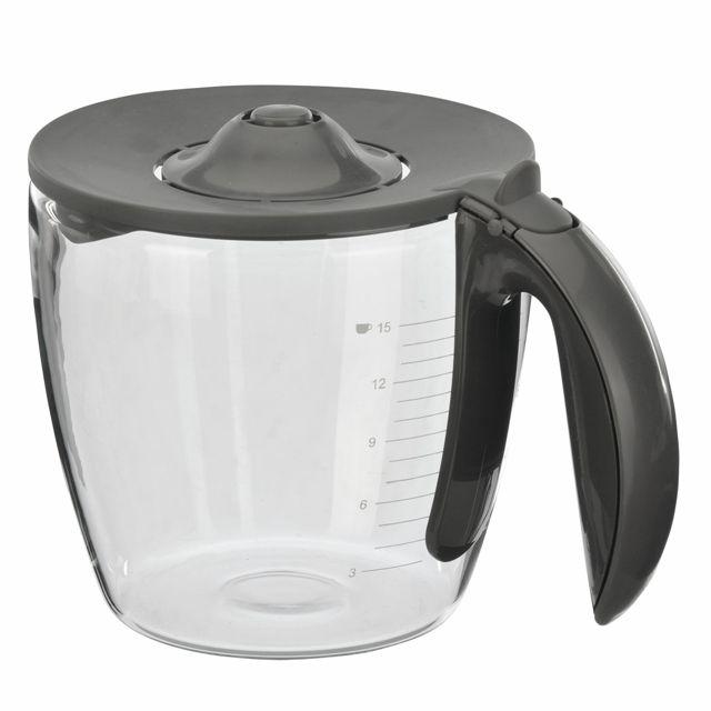 BS 647056 - Стеклянная колба к кофеваркам и кофемашинам Bosch, Siemens, Neff, Gaggenau (Бош, Сименс, Гагенау, Нефф)