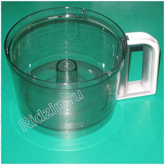 BS 649582 - Чаша основная к кухонным комбайнам Bosch, Siemens, Neff, Gaggenau (Бош, Сименс, Гагенау, Нефф)