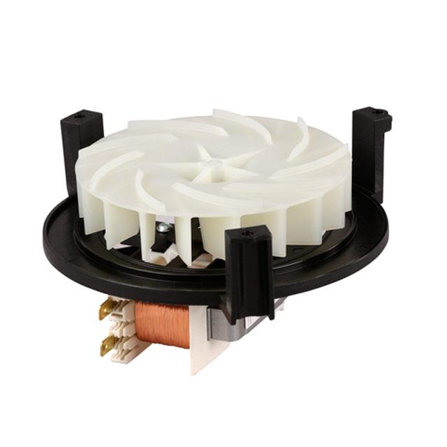 BS 658471 - Мотор вентилятора к плитам, варочным поверхностям, духовым шкафам Bosch, Siemens, Neff, Gaggenau (Бош, Сименс, Гагенау, Нефф)