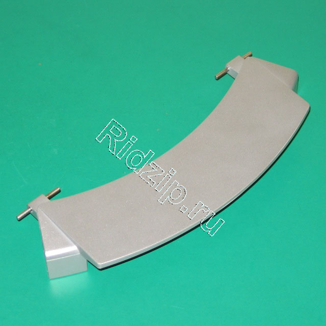BS 659273 - Ручка люка (серебристая)   к стиральным машинам Bosch, Siemens, Neff, Gaggenau (Бош, Сименс, Гагенау, Нефф)