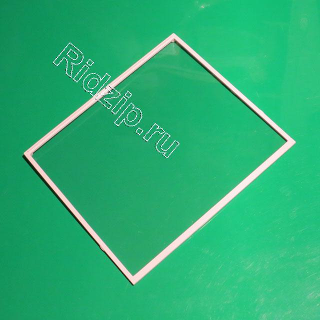 BS 669805 - Полка стекло с обрамлением к холодильникам Bosch, Siemens, Neff, Gaggenau (Бош, Сименс, Гагенау, Нефф)