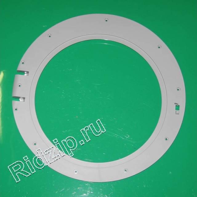 BS 705445 - Обрамление люка внутреннее серое к стиральным машинам Bosch, Siemens, Neff, Gaggenau (Бош, Сименс, Гагенау, Нефф)