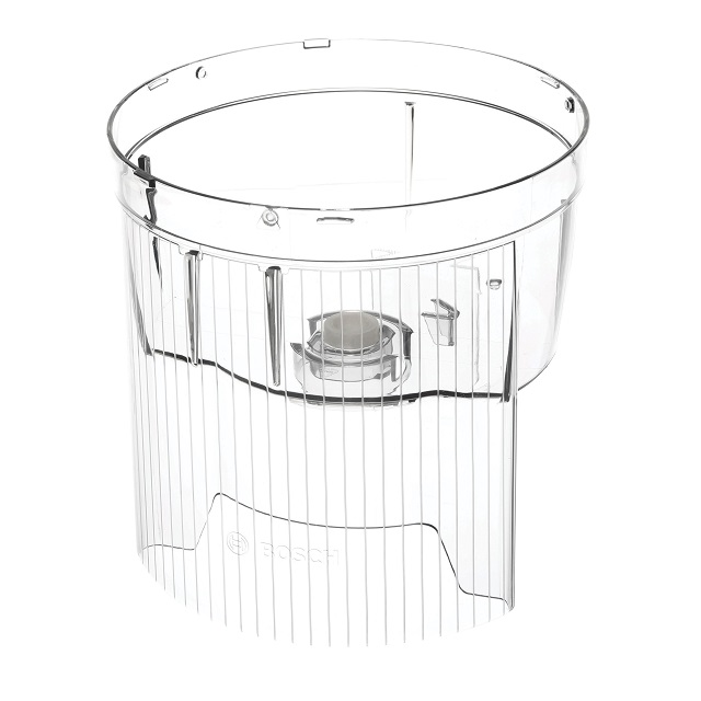 BS 707372 - Емкость насадки- кубикорезки  прозрачная  для MUZ5CC1 к кухонным комбайнам Bosch, Siemens, Neff, Gaggenau (Бош, Сименс, Гагенау, Нефф)