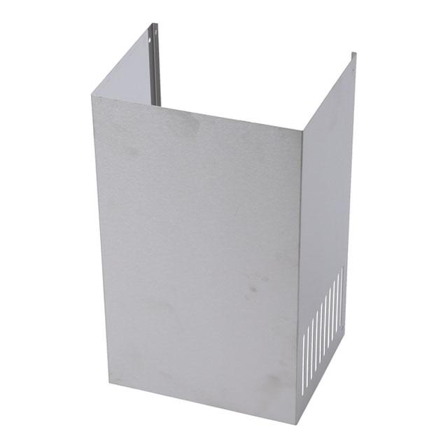 BS 773487 - Металлический короб с решётками, нерж.сталь, 350 мм к вытяжкам Bosch, Siemens, Neff, Gaggenau (Бош, Сименс, Гагенау, Нефф)