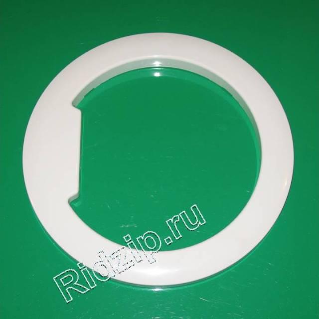 DC61-00055N - Обрамление люка внешнее белое к стиральным машинам Samsung (Самсунг)