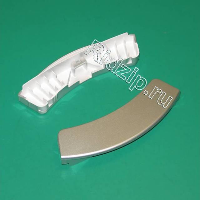 DC64-00561D - Ручка люка серебристая к стиральным машинам Samsung (Самсунг)