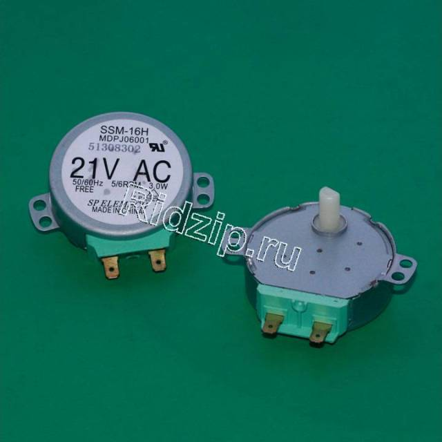 DE31-10154D - Мотор вращения тарелки 21V к микроволновым печам, СВЧ Samsung (Самсунг)