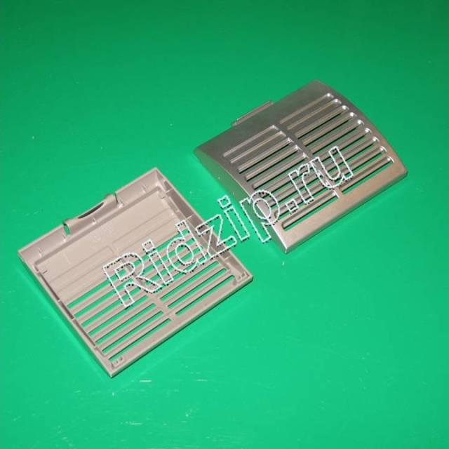 DJ64-00474A - Крышка выходного фильтра серебристая к пылесосам Samsung (Самсунг)