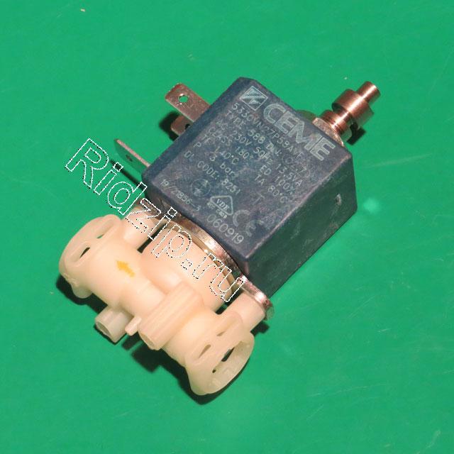 DL 5213218251 - Клапан 3VA 230V к кофеваркам и кофемашинам DeLonghi (ДеЛонги)