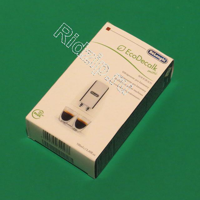 DL 5513295991 - Антинакипин (100 мл) EcoDecalk mini к кофеваркам и кофемашинам DeLonghi (ДеЛонги)