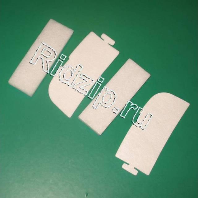 EL 9092941211 - Фильтры микро+моторный EF44 2+2 шт. к пылесосам Electrolux, Zanussi, Aeg (Электролюкс, Занусси, Аег)