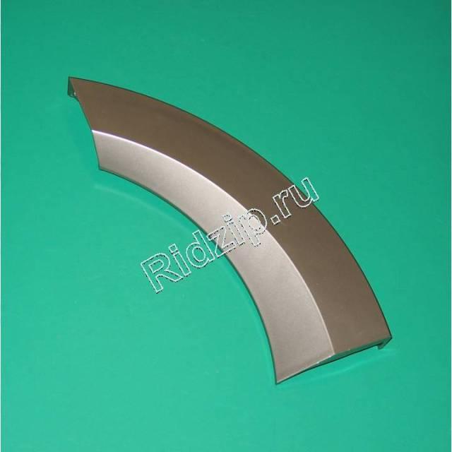 GR 350829 - Ручка люка серебристая к стиральным машинам Gorenje (Горенье)