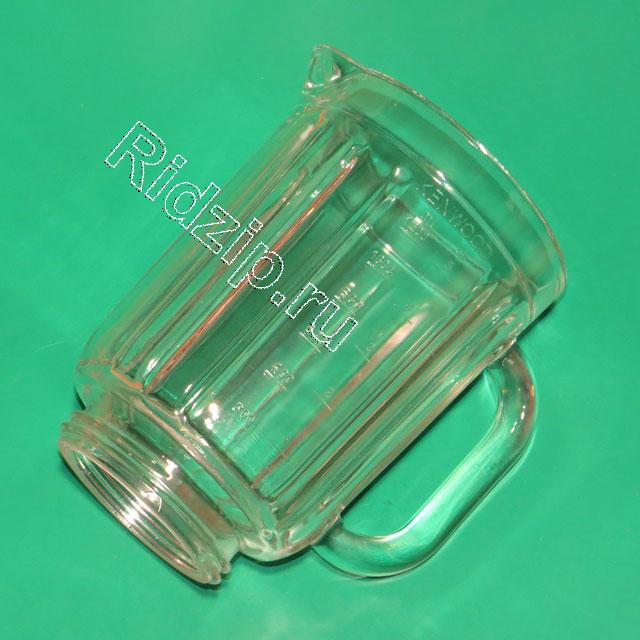 KW000001 - Стакан блендера ( стекло) к кухонным комбайнам Kenwood (Кенвуд)