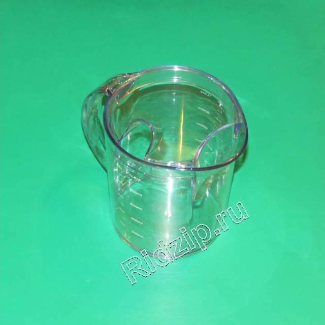 KW692580 - Чаша для сока с крышкой НЕ ПОСТАВЛЯЕТСЯ к соковыжималкам Kenwood (Кенвуд)