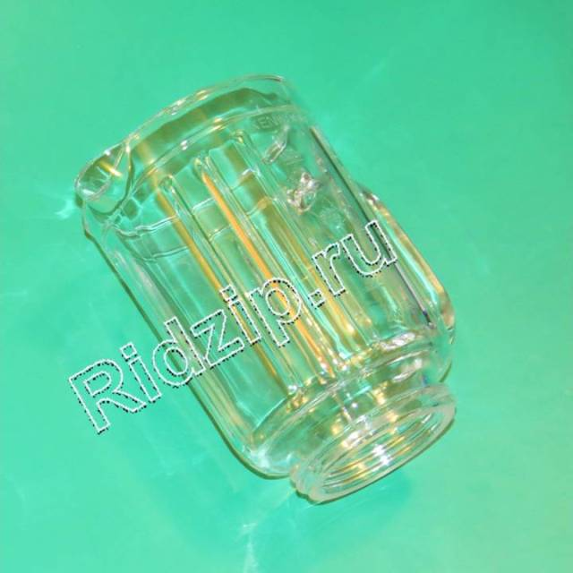 KW712522 - Стакан блендера 1.2 l (стекло) к кухонным комбайнам Kenwood (Кенвуд)