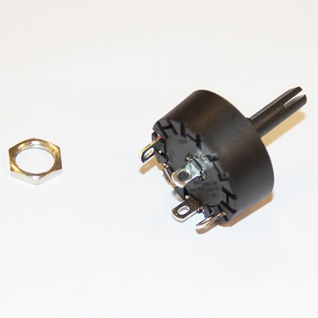 KW714311 - Выключатель в сборе с гайкой к кухонным комбайнам Kenwood (Кенвуд)