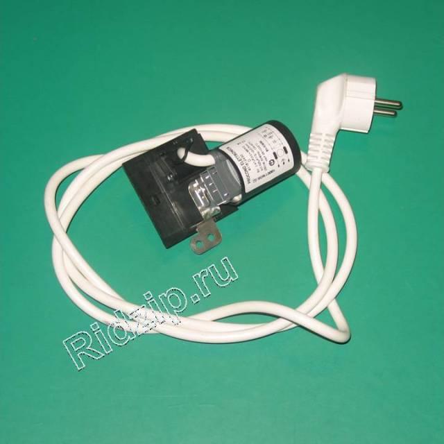 L091633 - Фильтр сетевой с кабелем к стиральным машинам Indesit, Ariston (Индезит, Аристон)