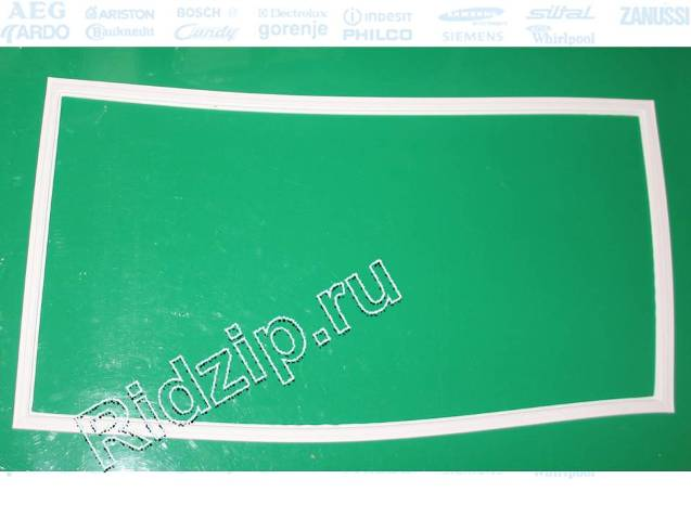 L854017 - Уплотнитель двери ( Резина ) 570x1100мм  к холодильникам Indesit, Ariston (Индезит, Аристон)