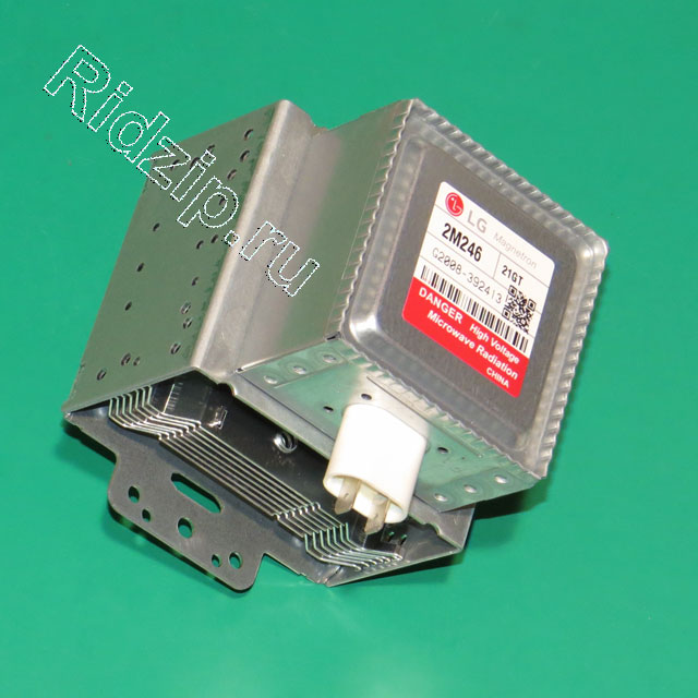 LG 2M246-21GT - Магнетрон 1100 Вт к микроволновым печам, СВЧ LG (ЭлДжи)