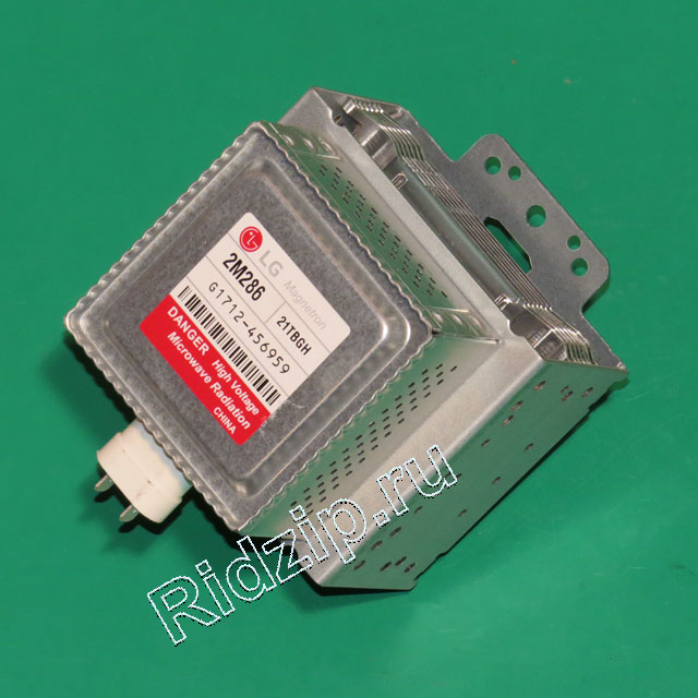 LG 2M286-21TBGH - Магнетрон инверторный к микроволновым печам, СВЧ LG (ЭлДжи)
