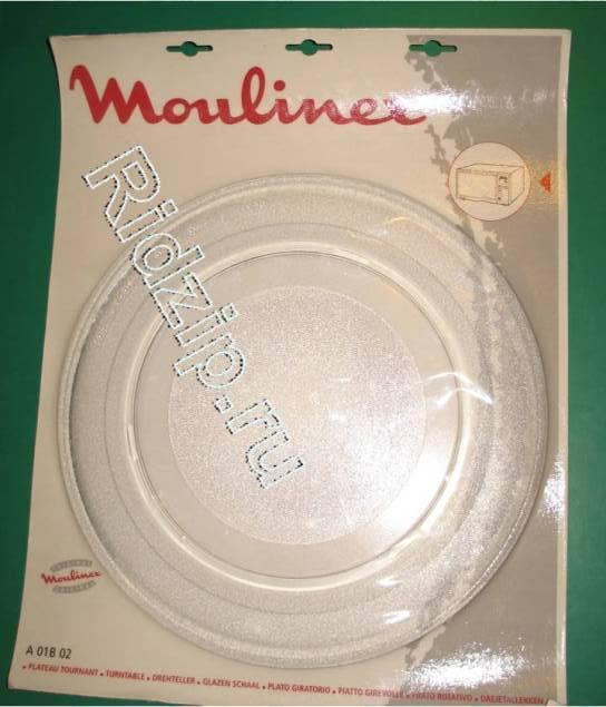 MA-A01B02 - Тарелка ( поддон - блюдо ) 320 мм к микроволновым печам, СВЧ Moulinex, Krups (Мулинекс, Крупс)