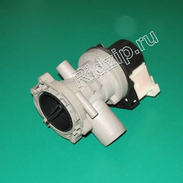 OAC089668 - Насос сливной ( помпа ) с улиткой к стиральным машинам Indesit, Ariston (Индезит, Аристон)