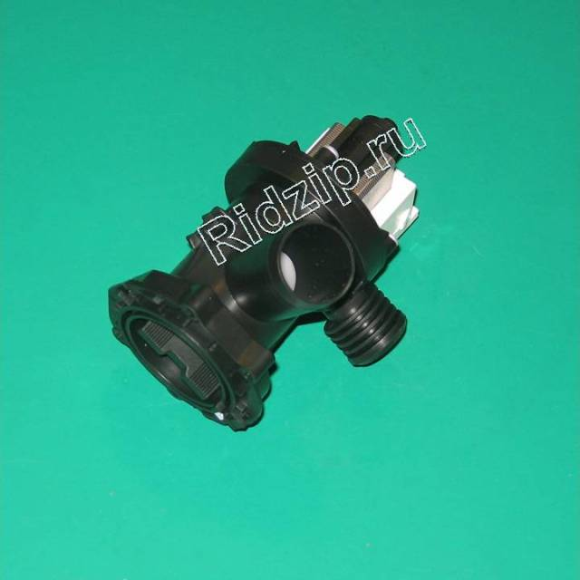 OAC309709 - Насос сливной ( помпа ) с улиткой к стиральным машинам Indesit, Ariston