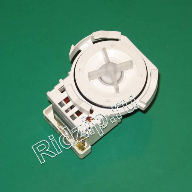 PMP004FA - Насос сливной ( помпа ) LEILI 30W 3 защелки клема под фишку к стиральным машинам Разных фирм (Разных фирм)