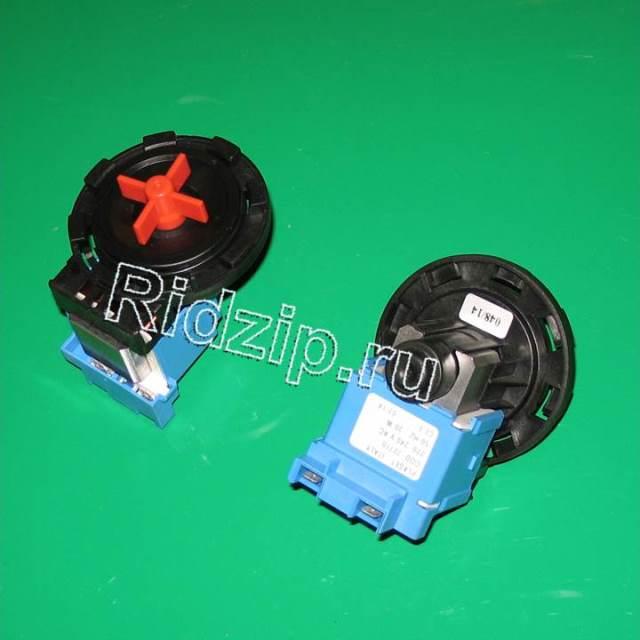 PMP101UN - Насос сливной ( помпа ) PLASET 30W ( без улитки на защелки 8шт. ) к стиральным машинам Разных фирм (Разных фирм)