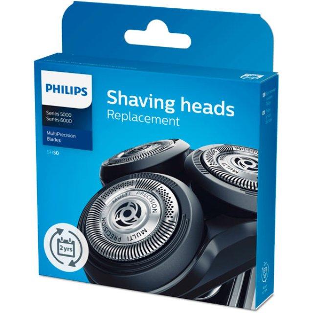 PS 422203625841 - Головка бреющая SH50/50 к бритвам Philips (Филипс)