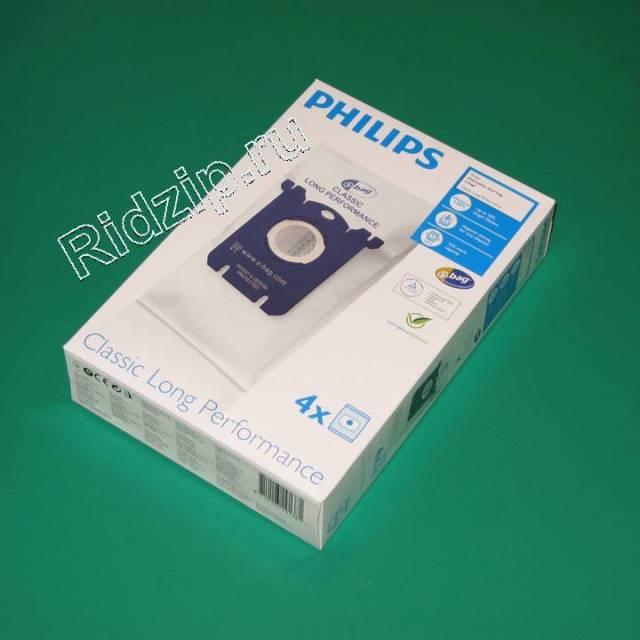 PS FC8021 - Мешки ( пылесборники ) 4 шт. S-bag  к пылесосам Philips (Филипс)