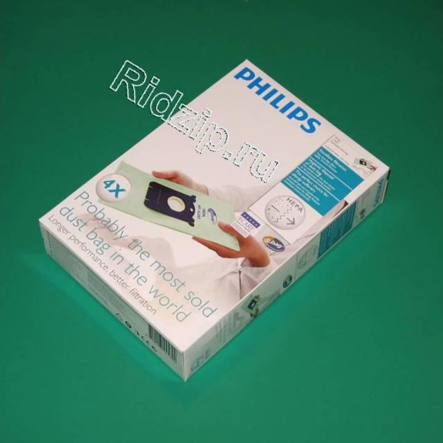 PS FC8022 - Мешки ( пылесборники ) 4 шт. S-bag  к пылесосам Philips (Филипс)
