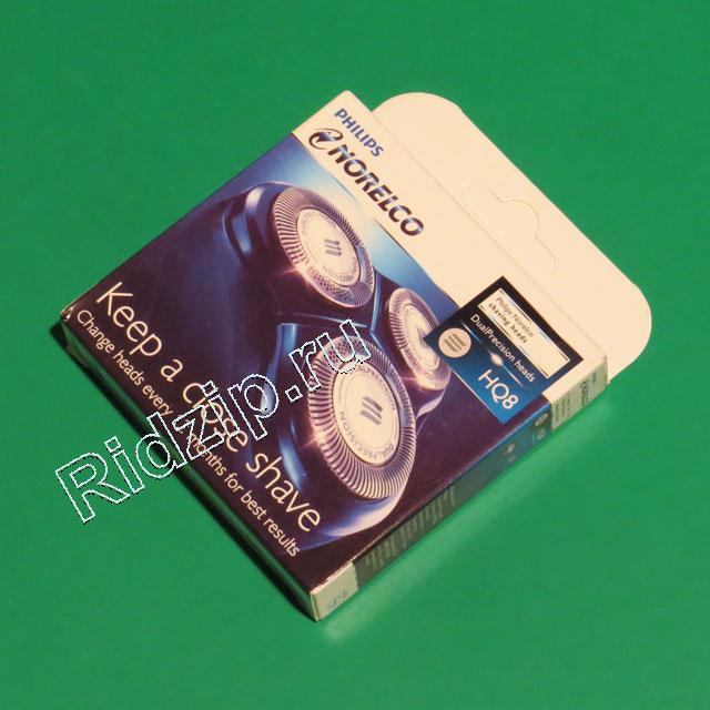 PS HQ8 - PS HQ8 Ножи для бритвы 3шт к бритвам Philips (Филипс)