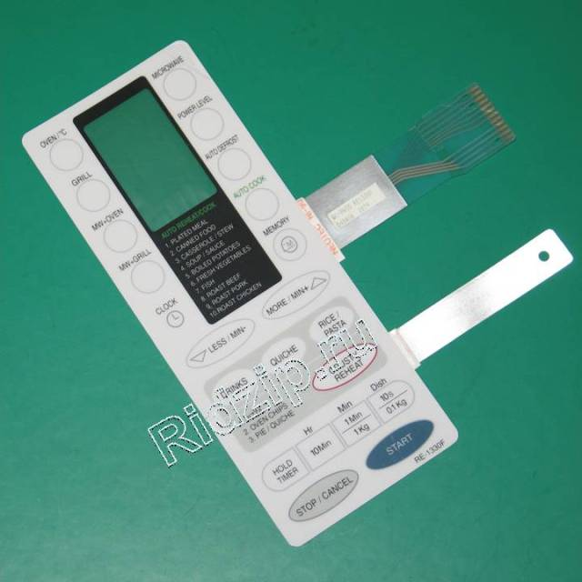 RE-1330F - Панель управления сенсорная ( мембрана ) к микроволновым печам, СВЧ Samsung (Самсунг)