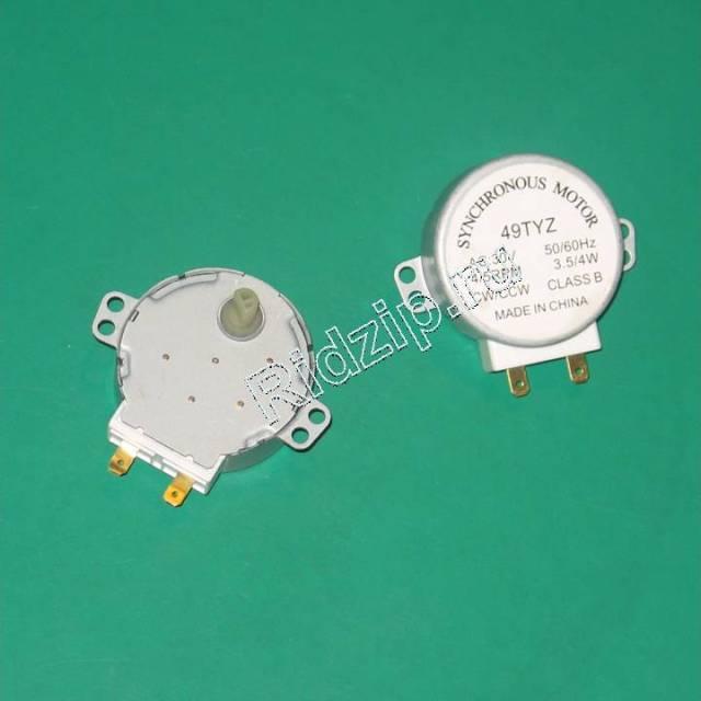SVC035 - Мотор поддона 49TYZ 30V 4/5RPM 3.5/4W к микроволновым печам, СВЧ Разных фирм (Разных фирм)