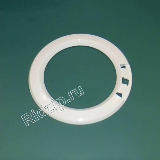 V 21002316 - Обрамление люка внешнее белое к стиральным машинам Vestel (Вестел)